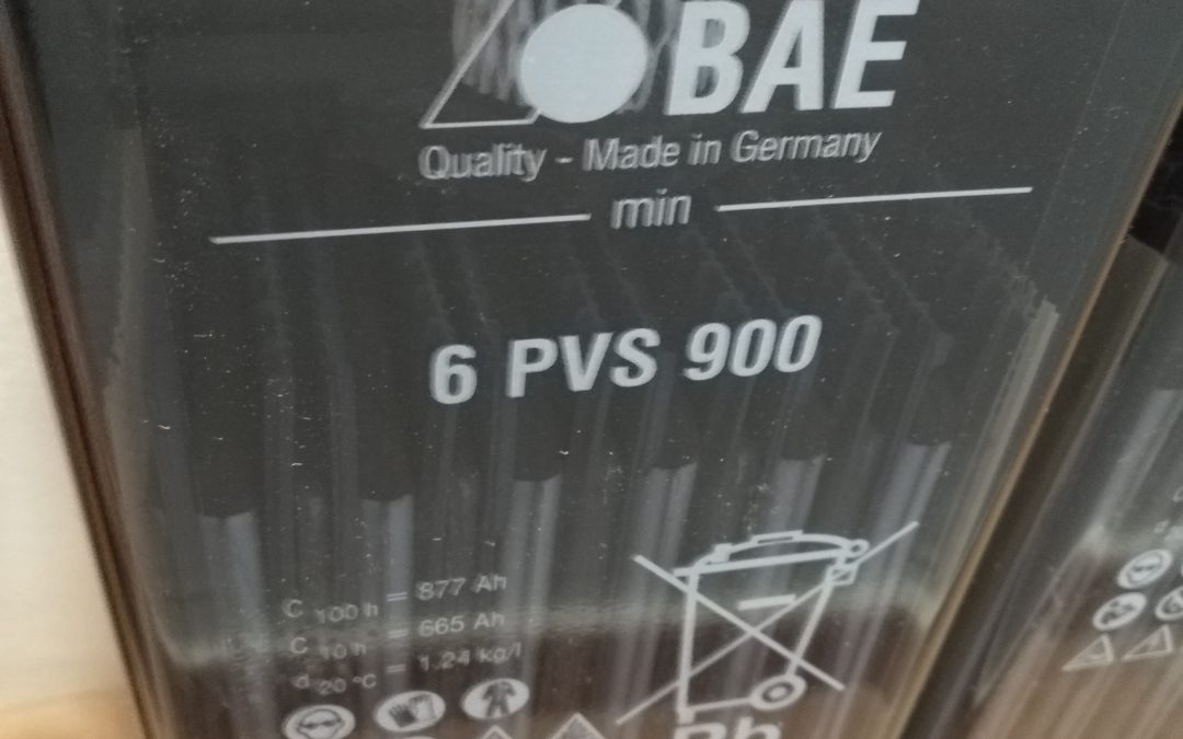 Sustitución de baterías BAE