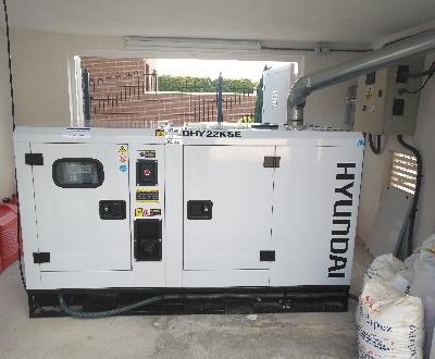 mantenimiento de grupos electrogenos y generadores hyundai i