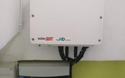 Auto consumo con Solaredge.