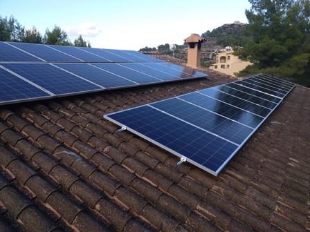 Ampliación del campo fotovoltaico